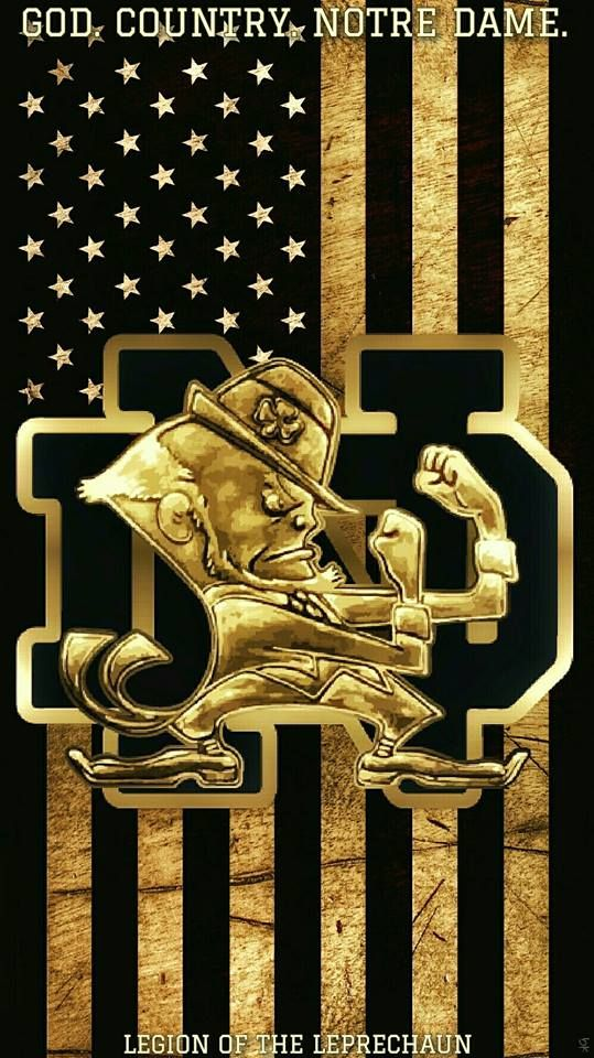Need A New Wallpaper For Your Smartphone Here You Go Irish Go Notre Dame Fighting Irish Football Fighting Irish Football Notre Dame Football