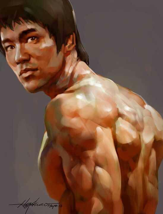 Bruce Lee was in Enter the Dragon with John Saxon who was in A Nightmare on Elm Street with Johnny Depp, whos in Benny and Joon with Julianne Moore whos in Crazy Stupid Love, with Kevin Bacon!