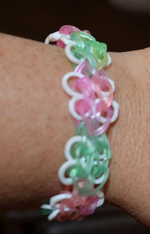 0e04fef900fc Handmade Glow in the dark pink and green Butterfly by axeboutique ...