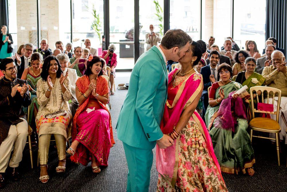 Indian Fusion Wedding At Kings Cross