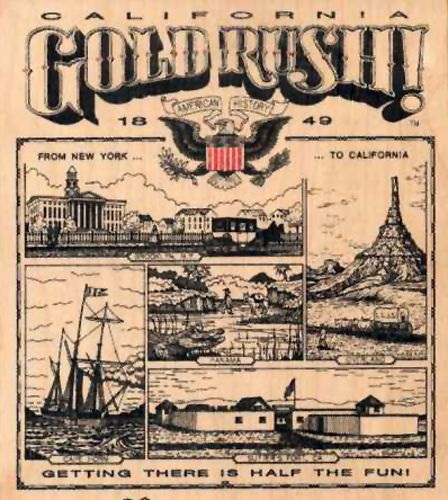an introduction to the history of the gold rush in the united states William thornton, of baltimore, maryland, designer of the united states capitol,  was one of these seekers after learning of the gold, he purchased thirty-five.