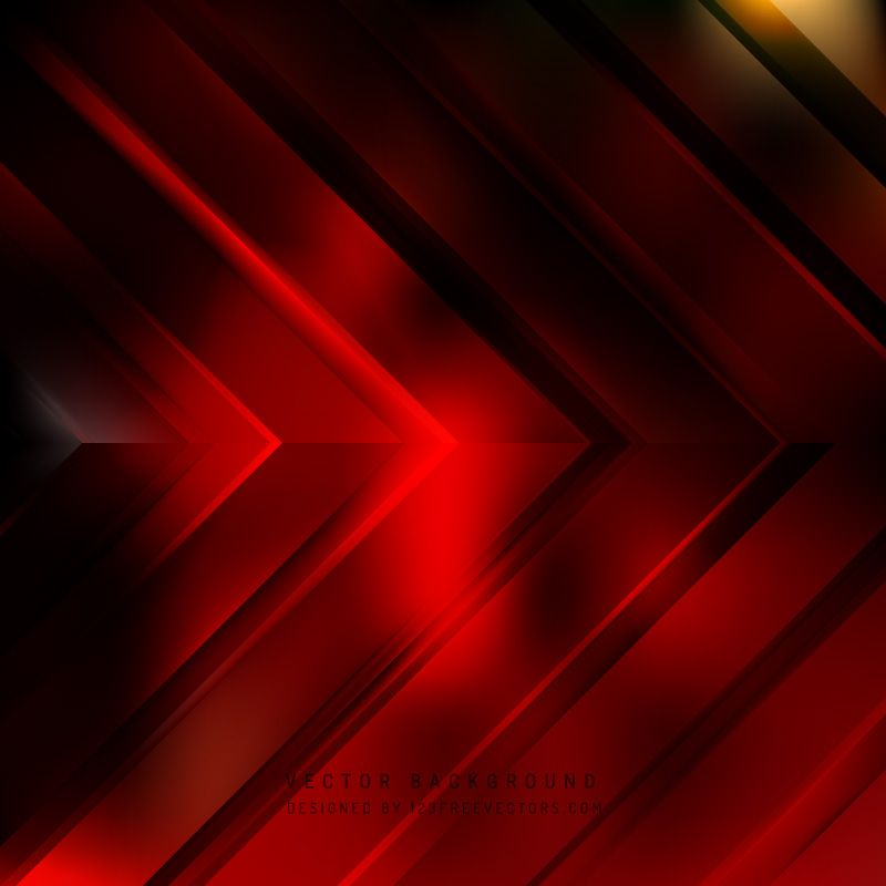 Abstract Dark Red Arrow Background Template Arrow Background