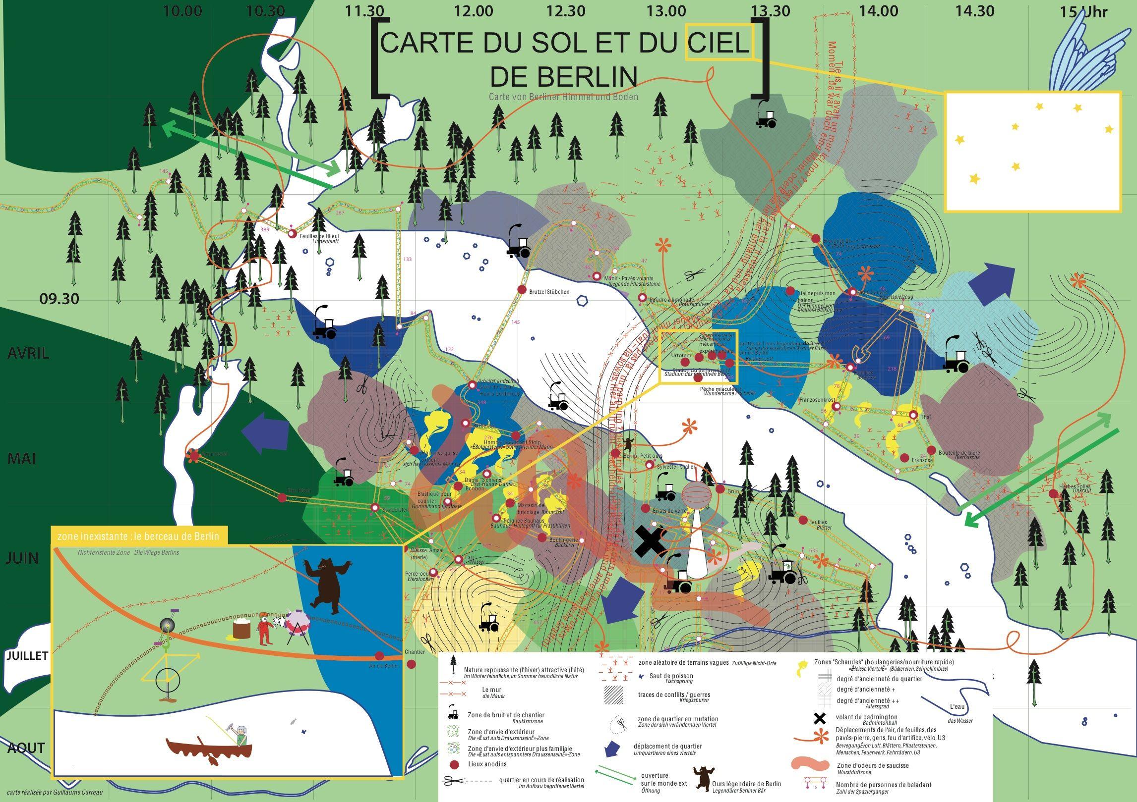 Carte Nantes Berlin - Subjective Geography
