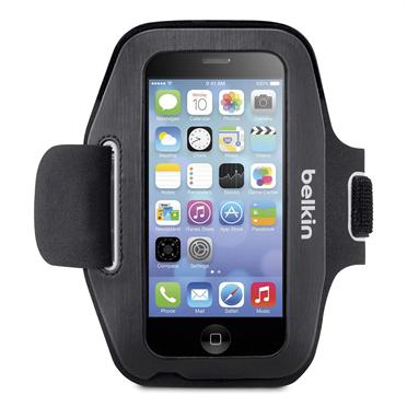 Belkin SlimFit Sport Armband Apple iPhone 5 5S SE Black