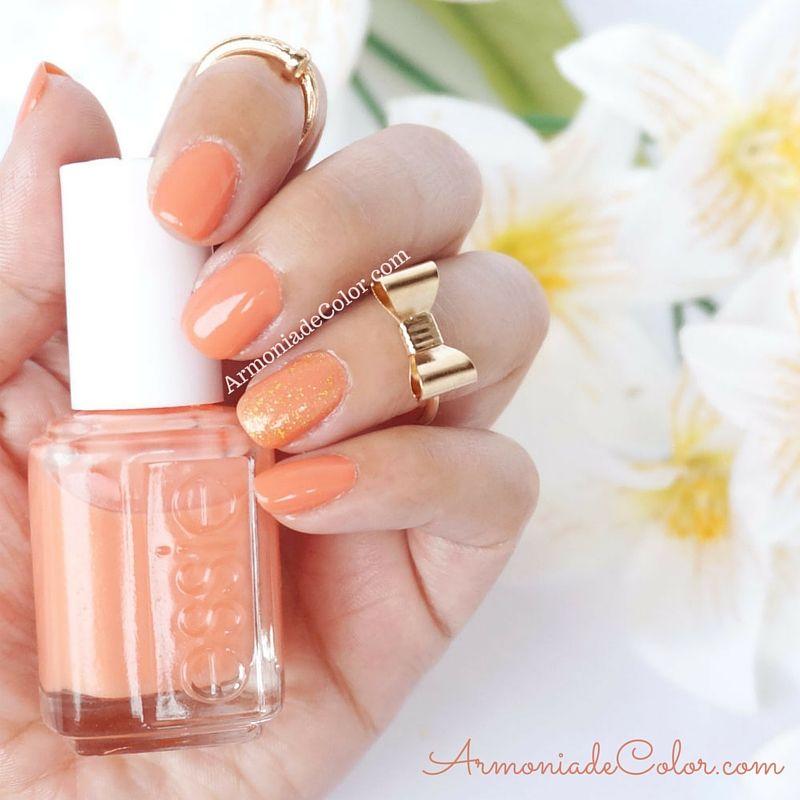review del esmalte #essie en el tono Resort Fling | Diseños de uñas ...