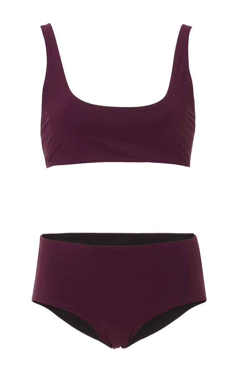 Olivia Top Bikini Set by ROCHELLE SARA Now Available on Moda Operandi