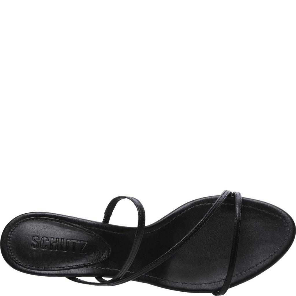 Evenise Kitten Heel Mule Sandal Schutz Shoes Schutz Trending