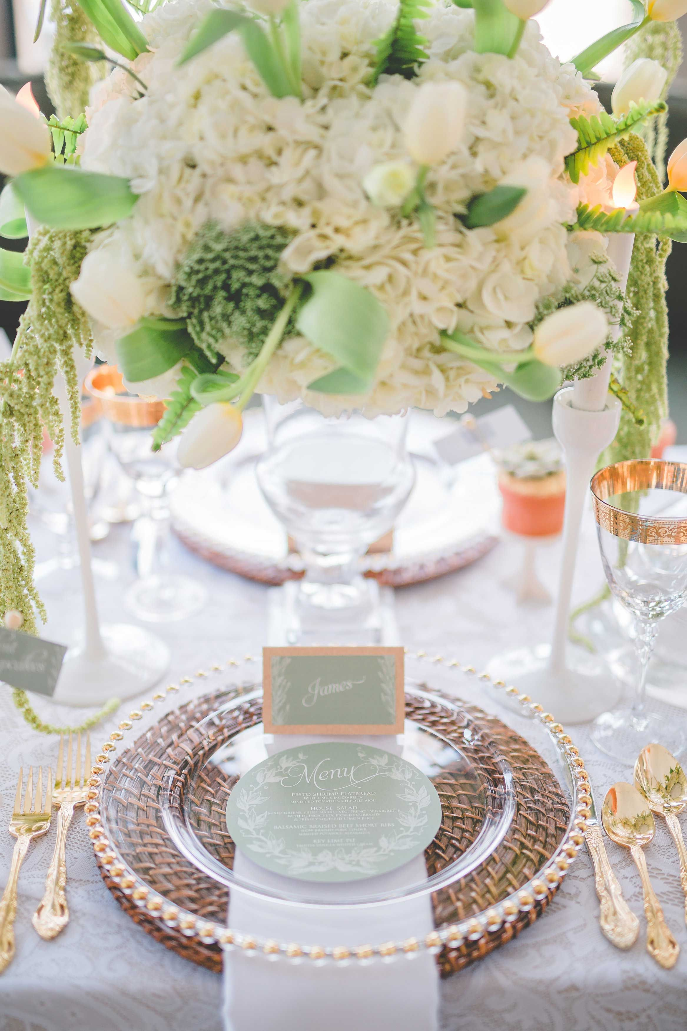 Secret Garden Theme | White and Green flowers | Romantic and Modern ...
