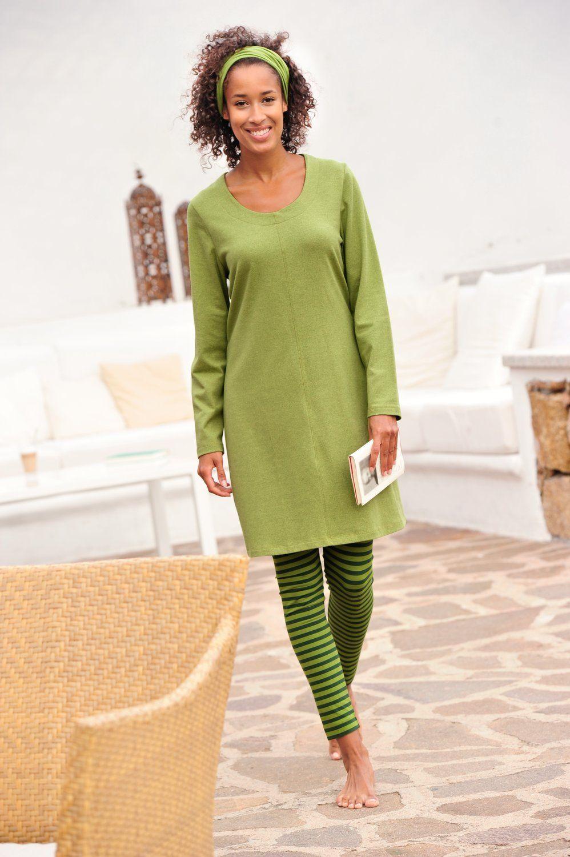 Grün, grün, grün sind alle meine Kleider, weil es einfach ...