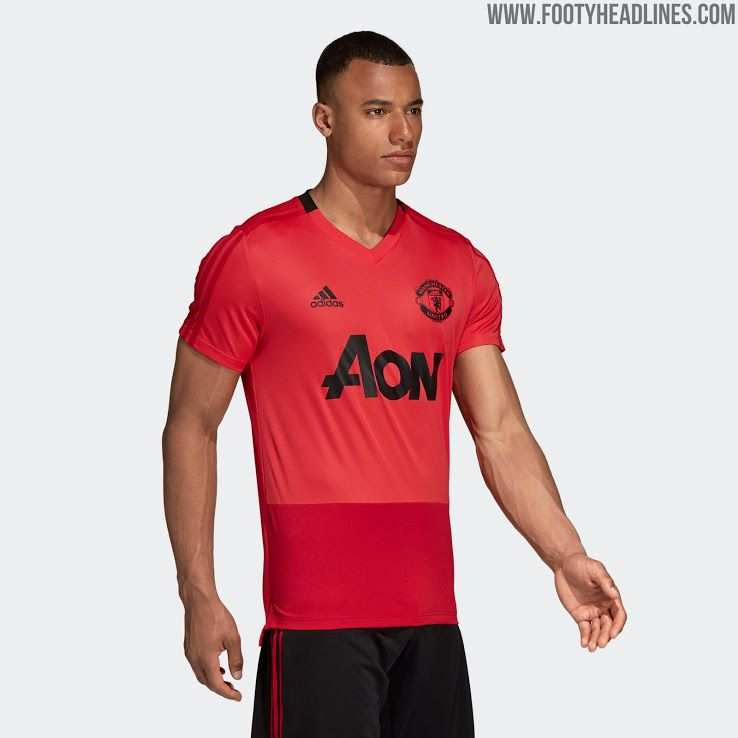 Pink Adidas Manchester United 18-19 Training Kit Leaked - Footy Headlines 0b94cd833