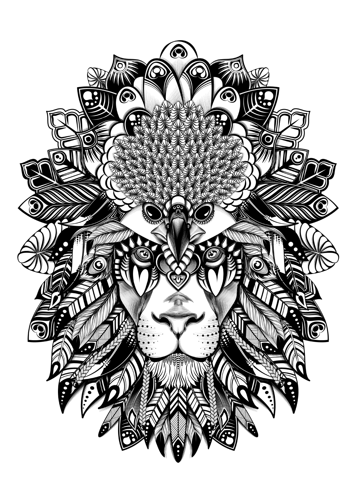 Digital art selected for the daily inspiration tattoos