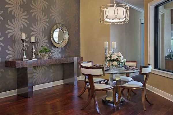 Nice Dining Room Wallpaper