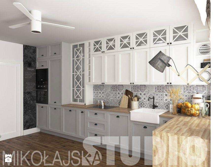 rural kitchen design - zdjęcie od MIKOŁAJSKAstudio