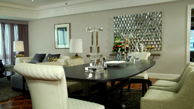 Exceptionnel Contemporary Glam Rooms | Contemporary Glamour Dining Room : Starmometer