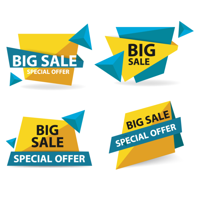 Colorful shopping sale banner template,, Sale, Banner, Offer PNG and ...
