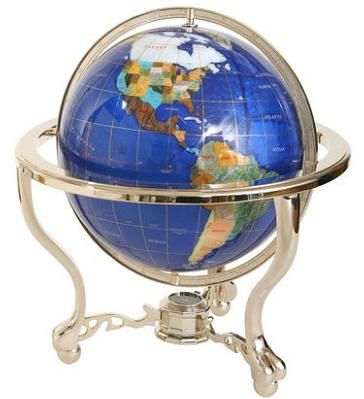 Gemstone globe is crafted with 25 grade a semiprecious stones ultimate globes specializes in the sale of world globes and maps for the home office and classroom established in our company has grown to become the freerunsca Image collections