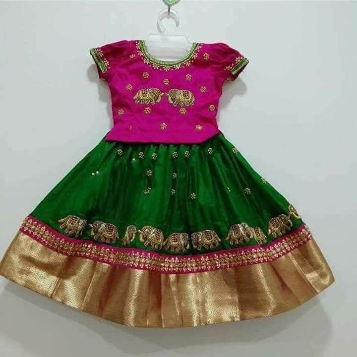 Drishi   Kids blouse designs, Kids designer dresses ...