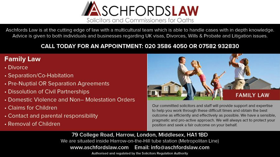 Shalini the founder of Aschfords Law is a Solicitor with