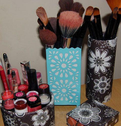 Charmant 20 DIY Makeup Storage Ideas