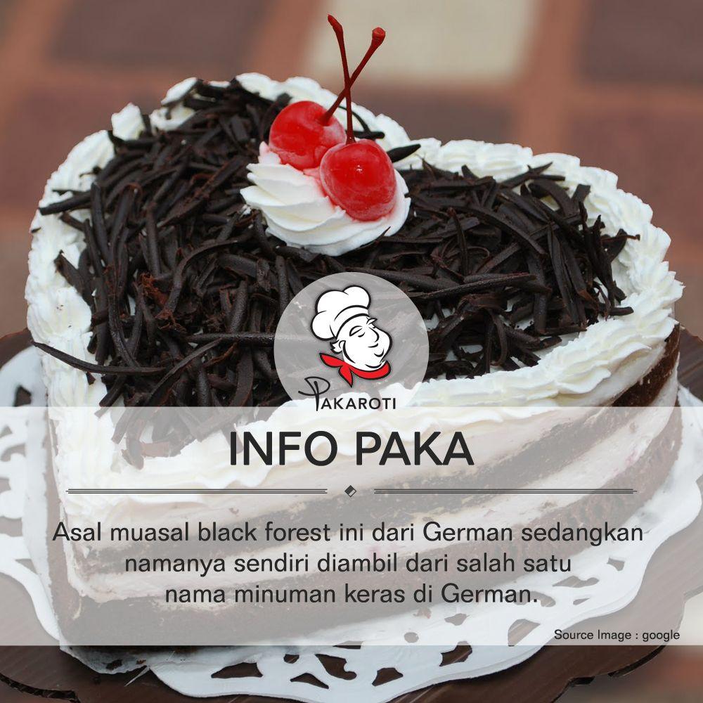Black Forest, Kue Ulang Tahun Populer