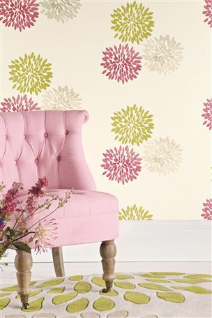 Buy Pink Bloom Wallpaper from the Next UK online shop | New house ...