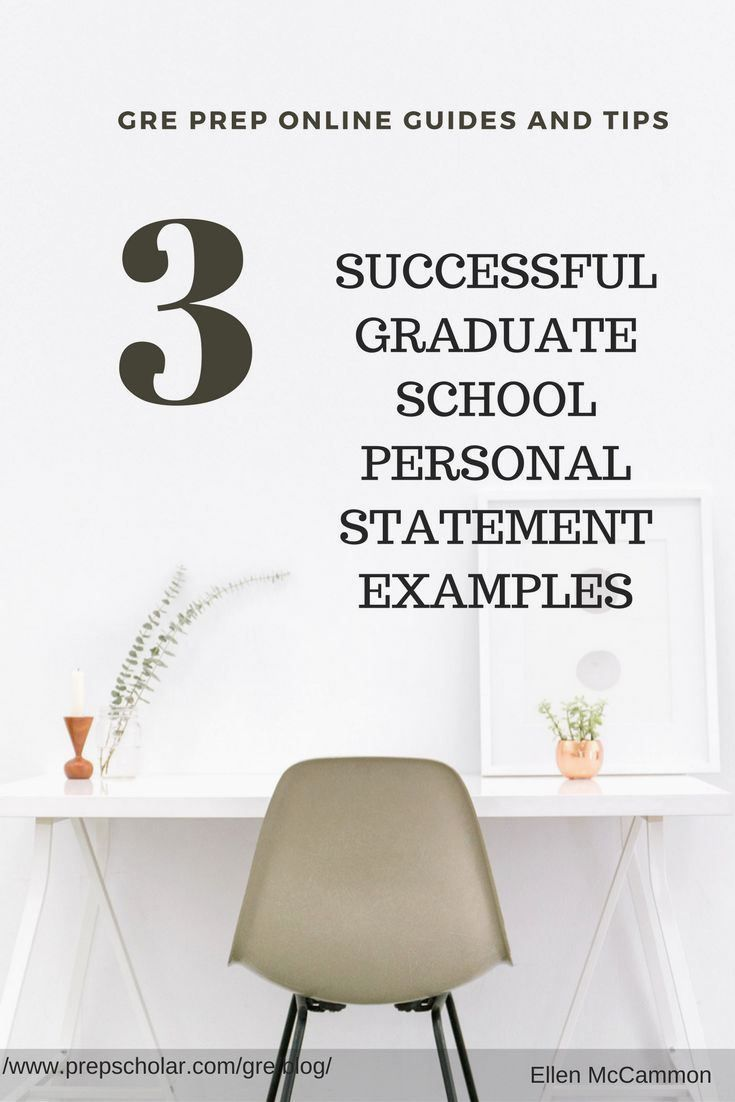 3 Successful Graduate School Personal Statement Example Pr In 2020 Forensic Psychology Master