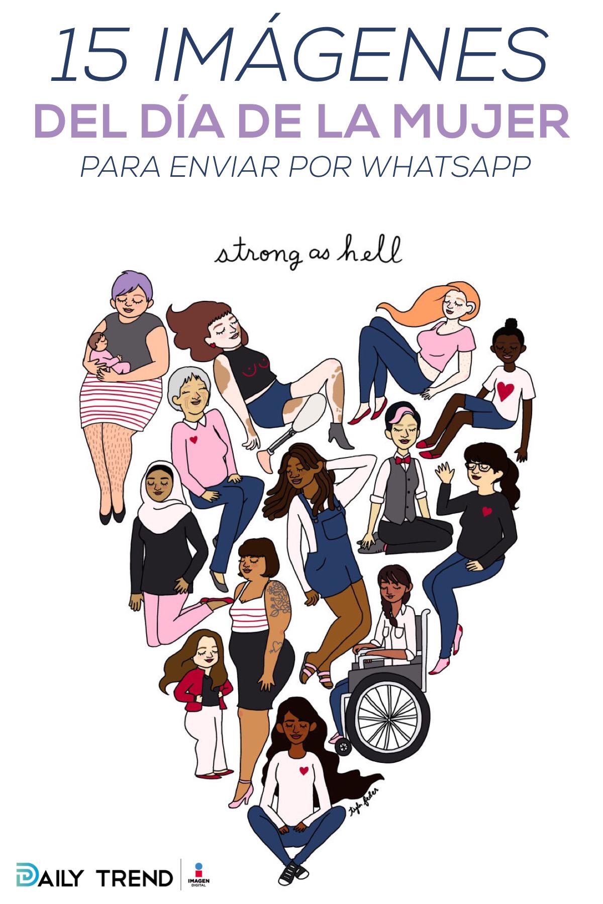Imágenes Del Día De La Mujer Que Estaría Muy Bien Que Enviaras Por Whatsapp Feminismo Arte Feminista Frases Feministas