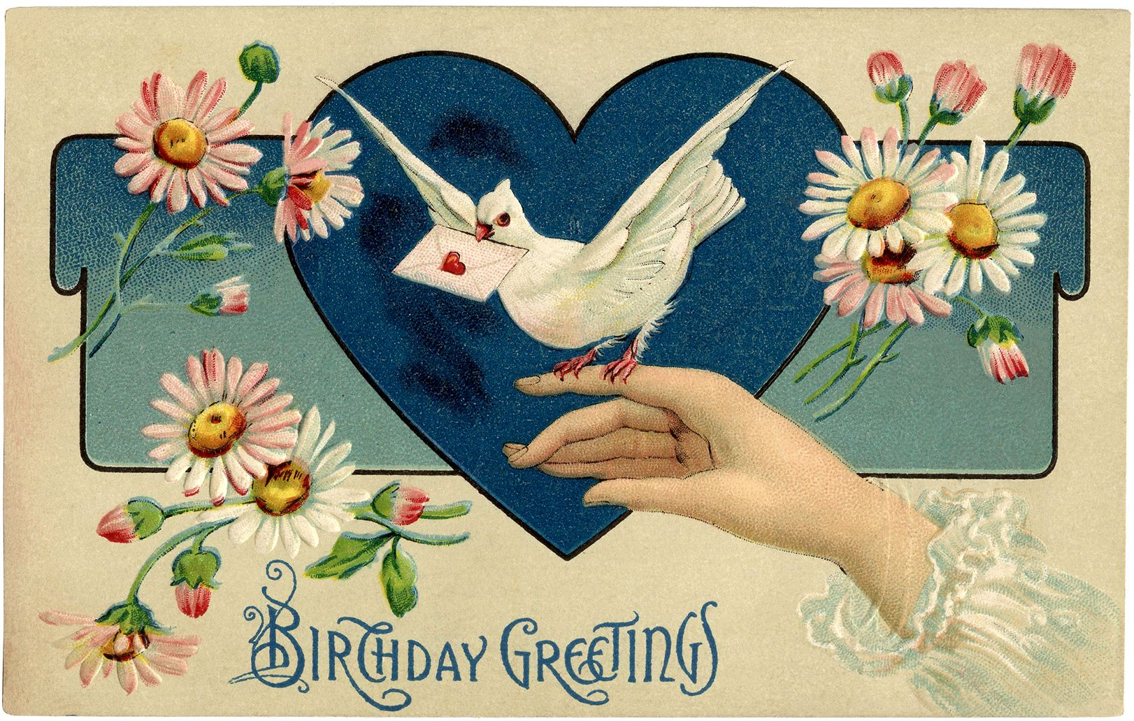 Vintage Birthday Illustration Vintage Birthday Cards Images And