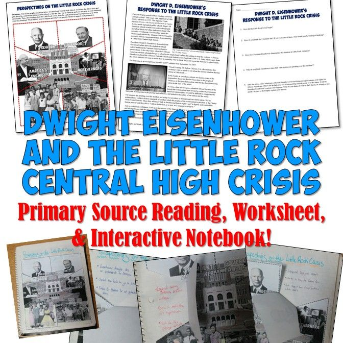 Eisenhower\'s Response to the Little Rock 9 Crisis Reading ...