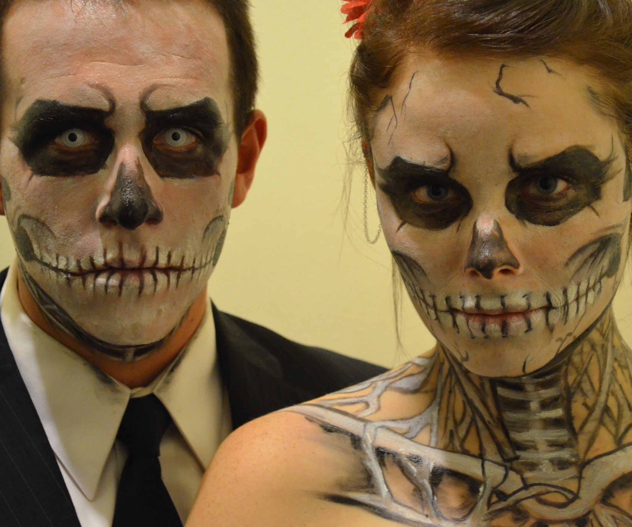 Skeleton Halloween Makeup | Skeleton makeup, Halloween makeup and ...