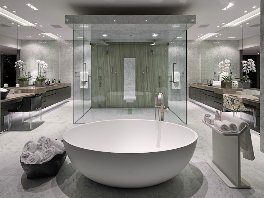 10 luxury white master bathrooms you will love to have - Luxury Master Bathrooms Ideas