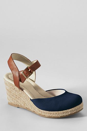 cab709824f7 Women s Cara Closed Toe Espadrilles from Lands  End