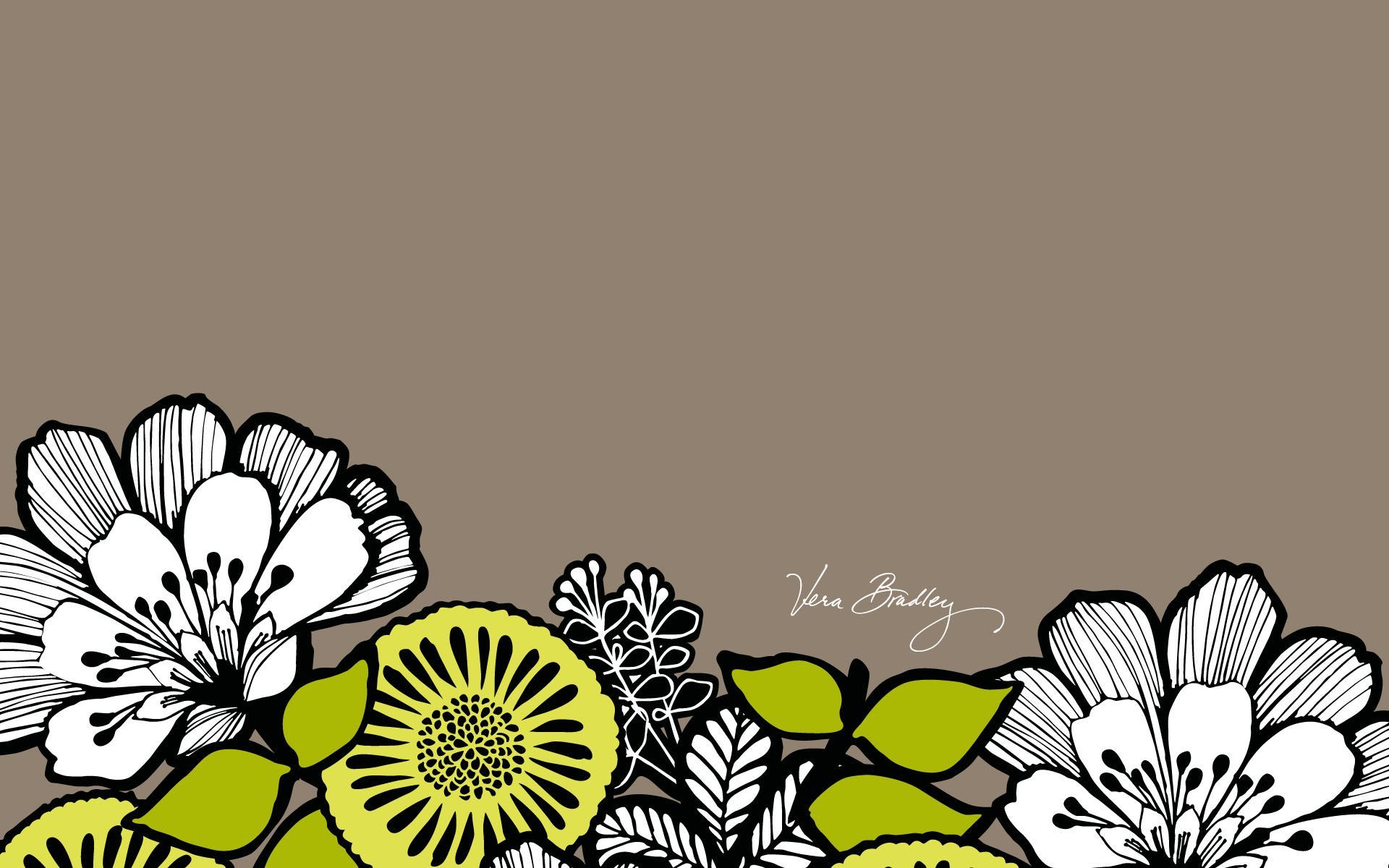 vera bradley desktop wallpaper citron spring