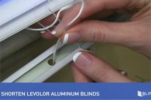 Are Your Blinds Too Long Learn How To Shorten Mini Blinds In Just