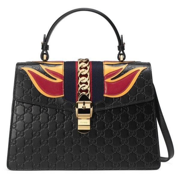38093b9788346 Tasche Sylvie aus Gucci Signature
