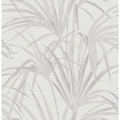 "Ochlocknee 33' x 21"" Palm Wallpaper Roll 
