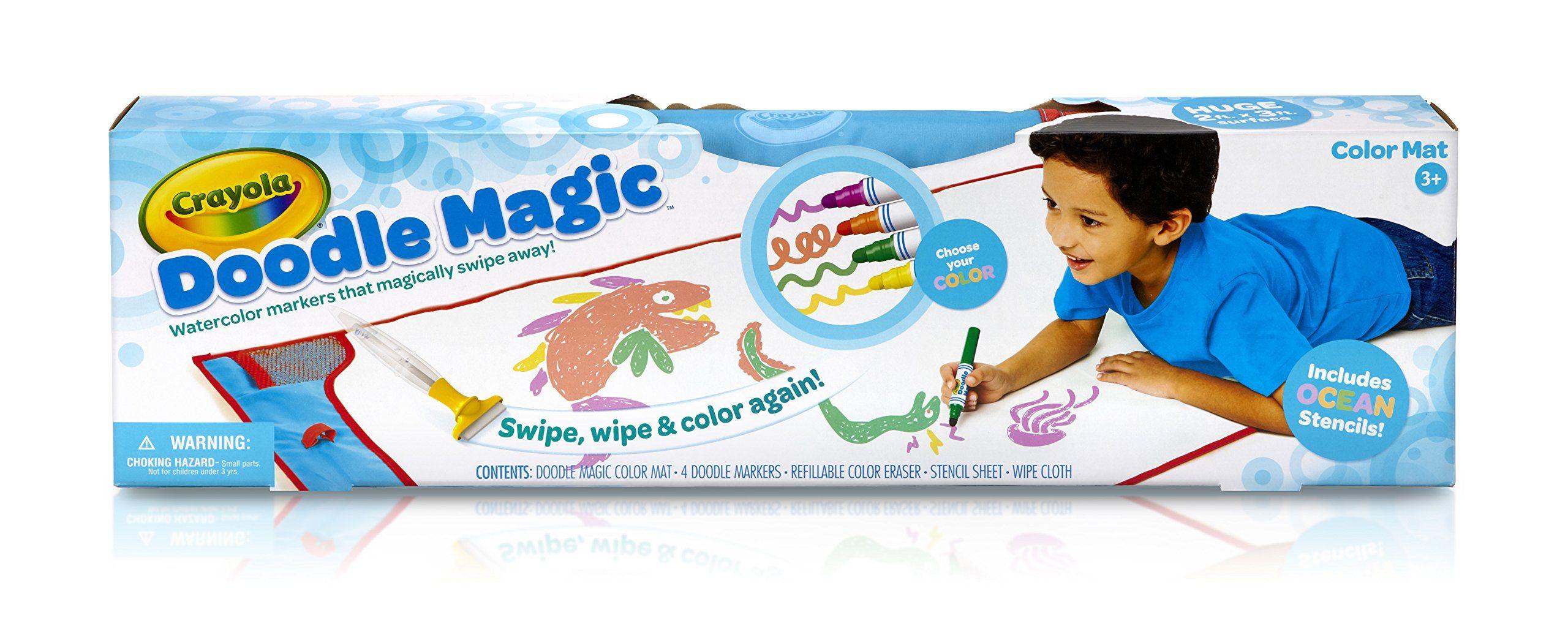 Crayola MatOcean Doodle Magic Color Marker Coloring