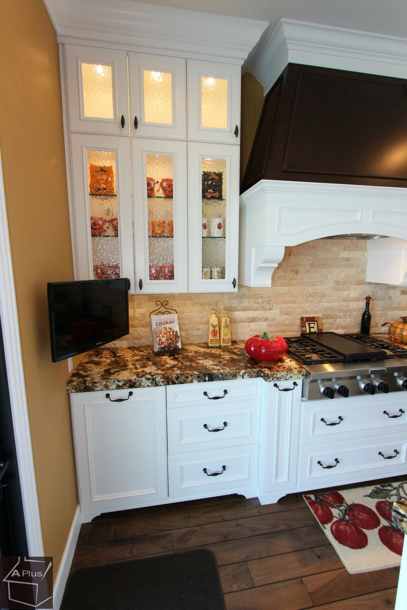 Traditional Design Build kitchen #Remodel with APlus Custom ...