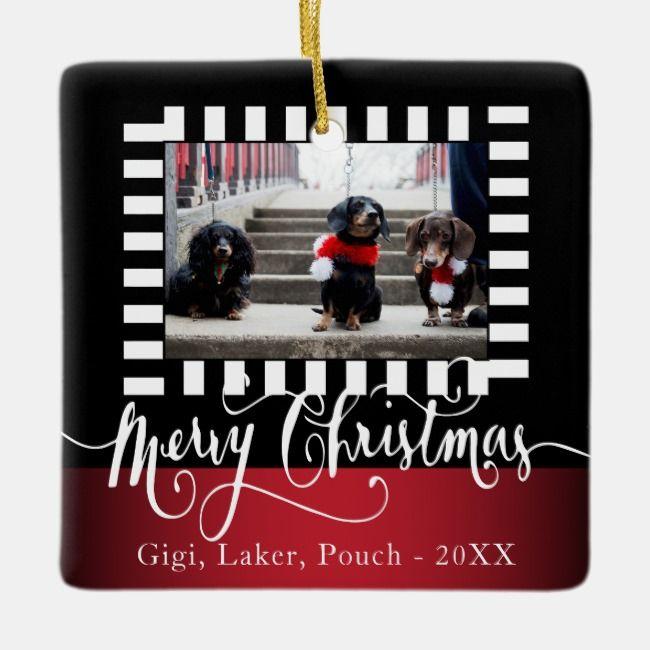 Decorative DIY Photo Design - Christmas Ceramic Ornament    Decorative DIY Photo Design - Christmas Ceramic Ornament
