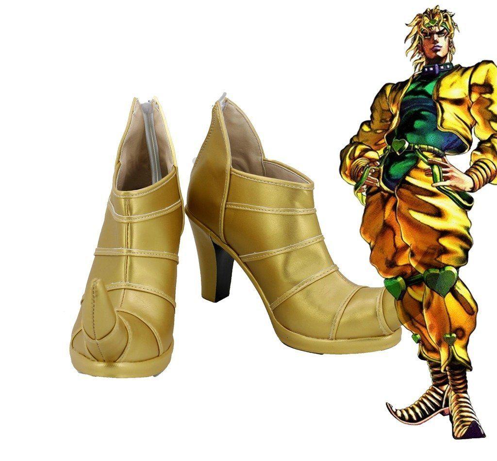 JoJo JoJo's Bizarre Adventure Anime Halloween Cosplay Costumes Shoes Boots  For Men Euro Size
