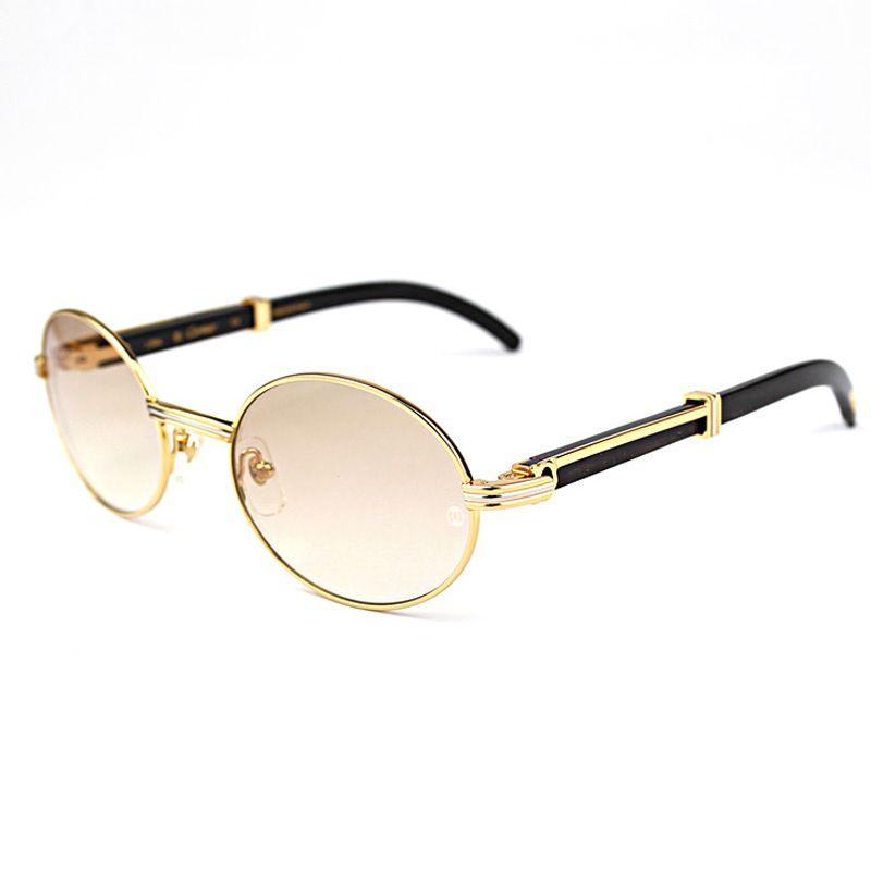 Retro Carter Sunglasses Round Glasses Frame Wood Eyeglasses Carter ...