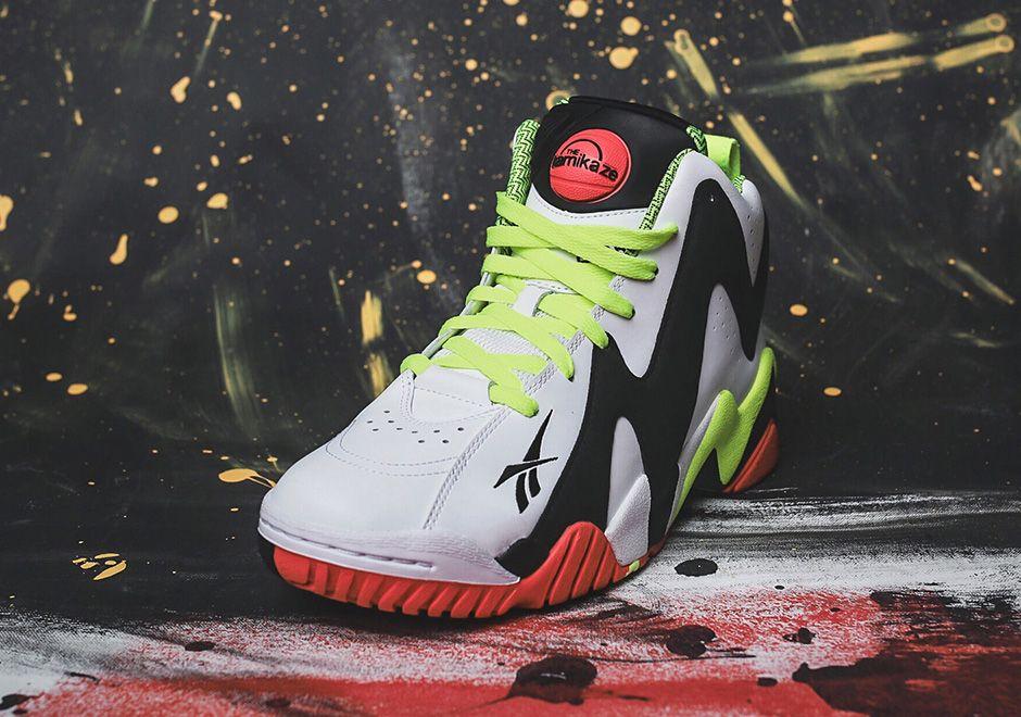 Reebok Pump Kamikaze II - SneakerNews.com 2eaa69993