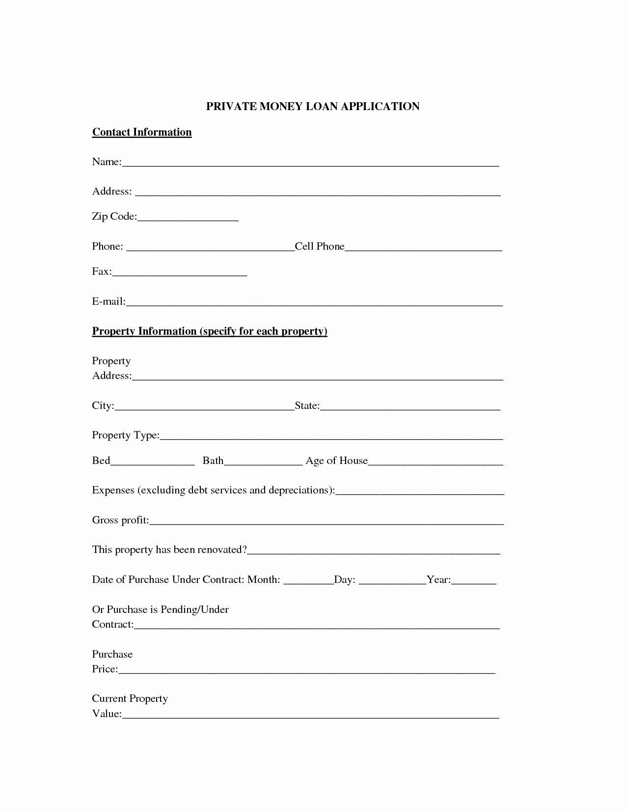 Lending Money Contract Template Free Beautiful 10 Best Of