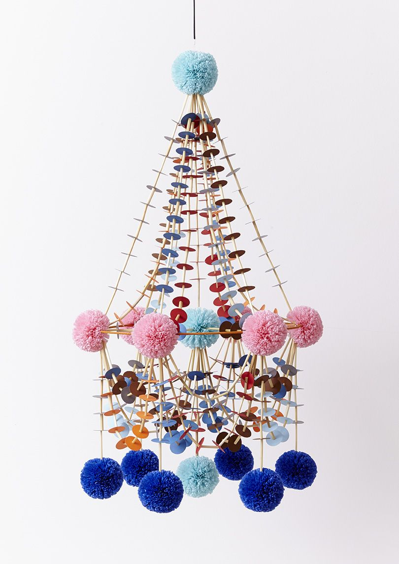 Diy Paper Chandeliers Or Pajaki Are A Traditional Polish Folk Craft Designed To Brighten Up The Home With Bold Spring Bloom Crafts Diy Paper Paper Chandelier