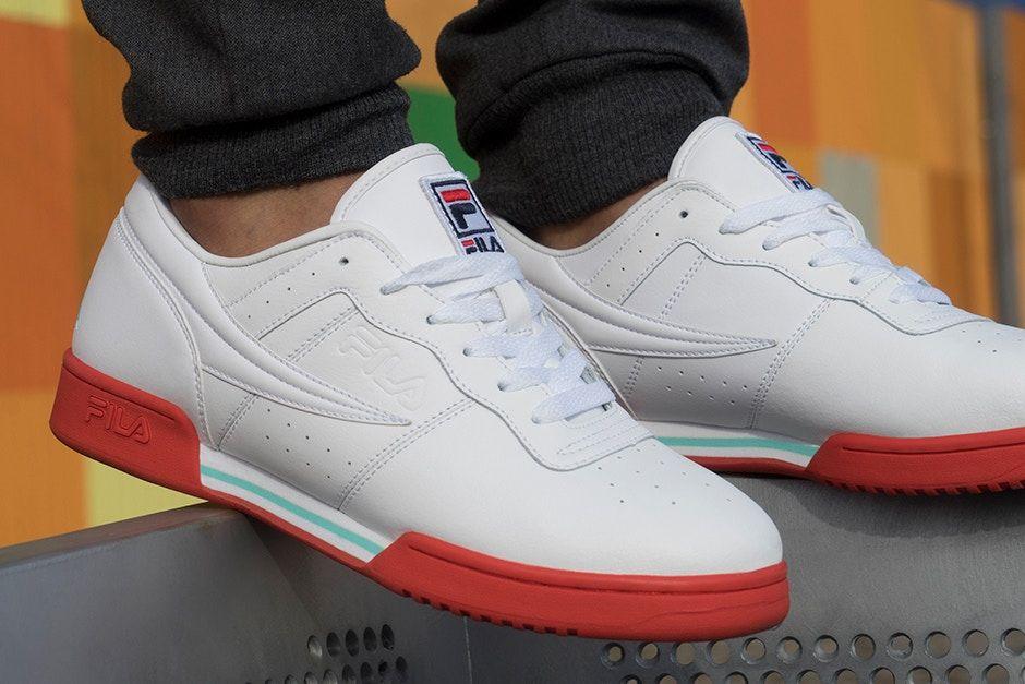 138dfd430 Four FILA Sneakers Dressed in 90s Colors for Summer  17 - EU Kicks  Sneaker  Magazine
