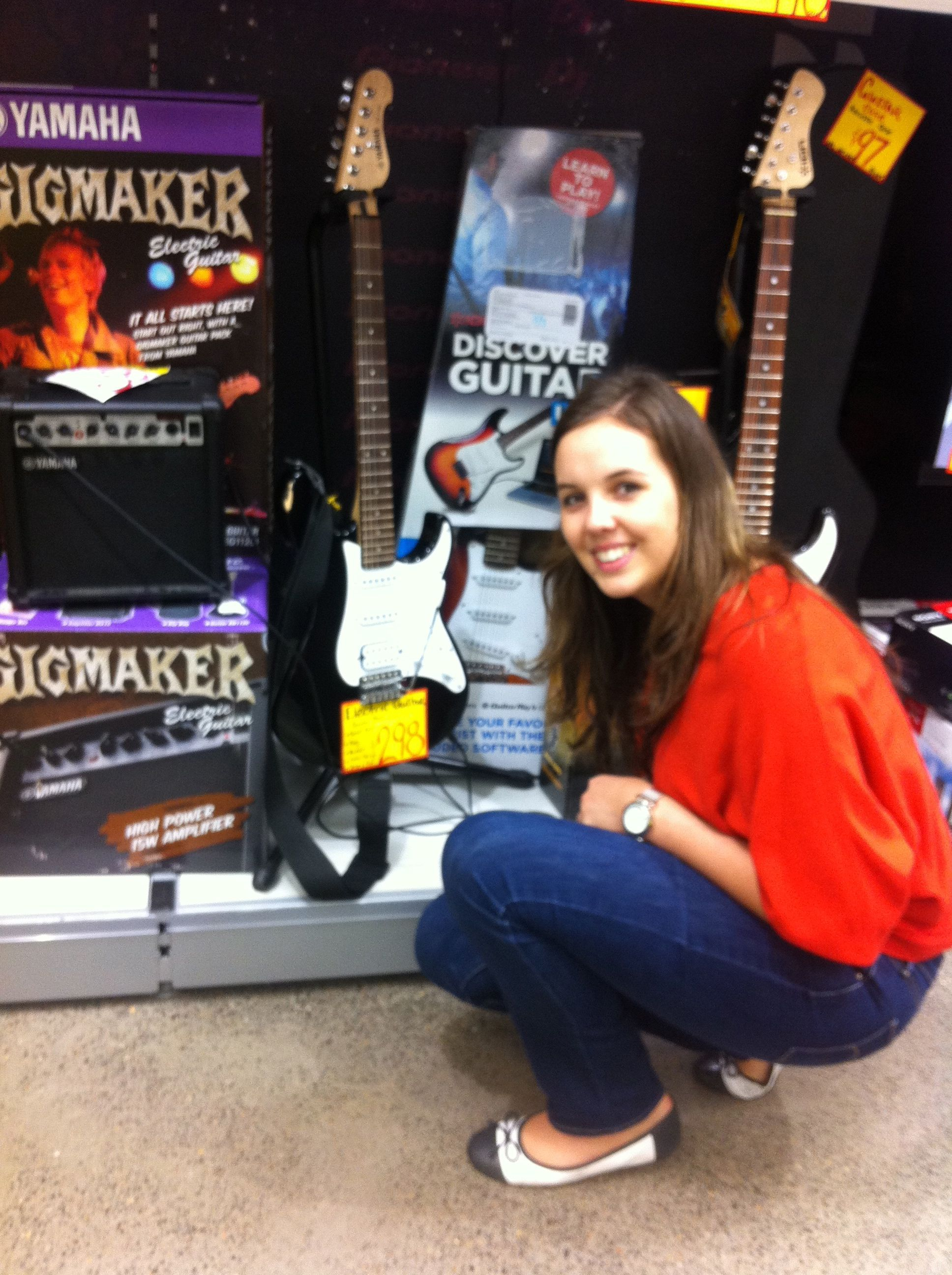 Sasha Jb Hifi Yamaha Gigmaker Electric Guitar 298 00 Pic Your