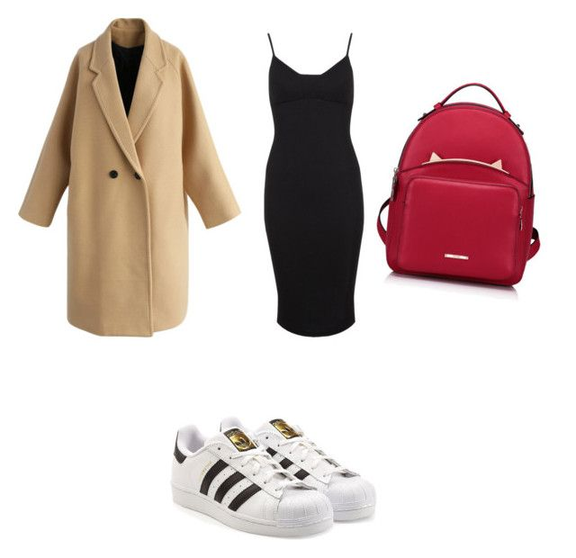 """""""Untitled #52"""" by nicole99-ii on Polyvore featuring Chicwish, Miss Selfridge, adidas, WithChic, men's fashion and menswear"""