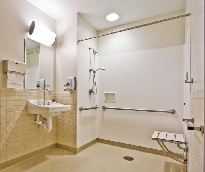 St Anthony S Hospital Ada Shower Healthcare Architecture