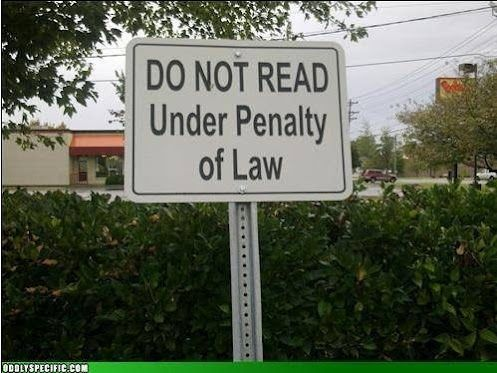 Well I guess I broke the law