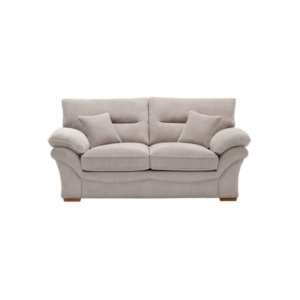 Breeze Silver Fabric Sofas 2 Seater Sofa Chloe Range Oak Furnitureland 2 Seater Sofa Sofa Oak Furniture Land